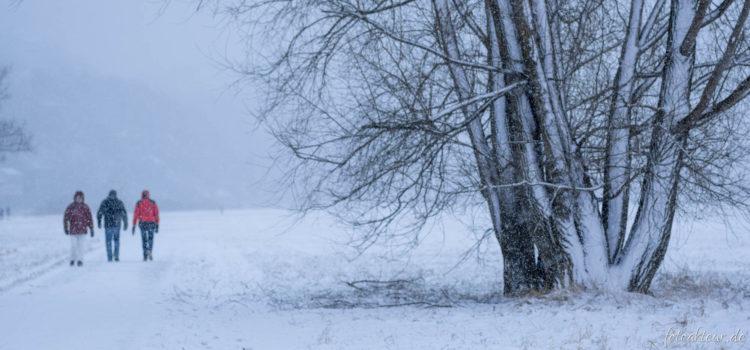 Naturschauspiel Winter