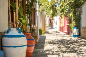 Griechische Dorfidylle in Koskinou