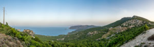 Westküste mit Monolithos