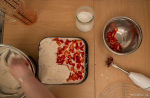 Zubereitung Erdbeer-Sahnetorte
