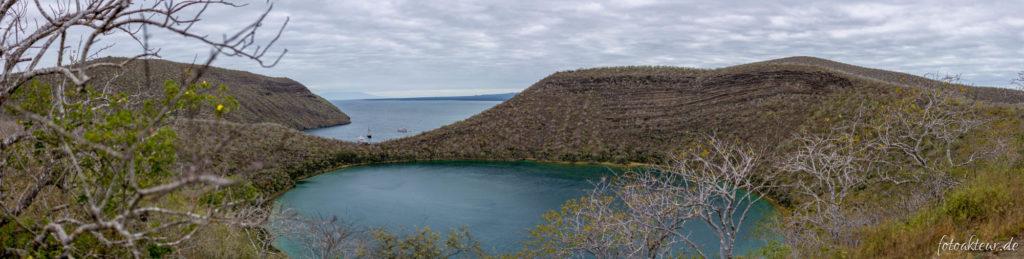 Blick auf Darwinsee & Tagus Cove