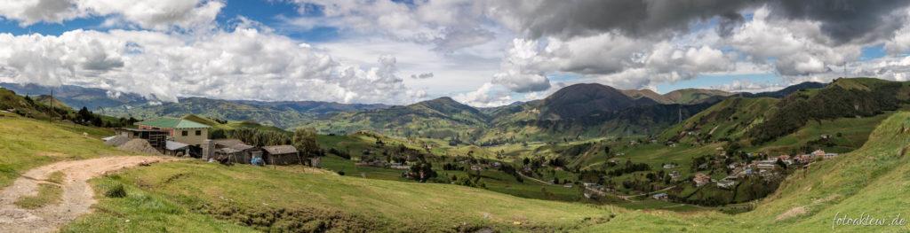 Auf dem Weg durch die Anden