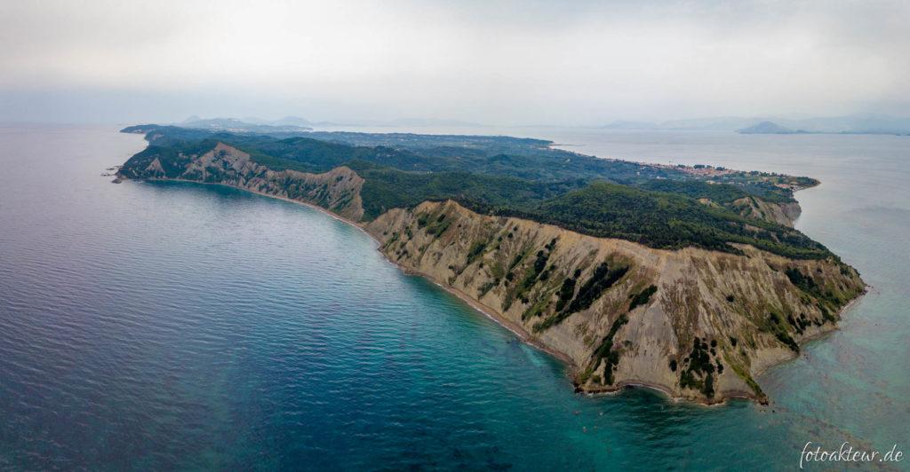 Südspitze von Korfu